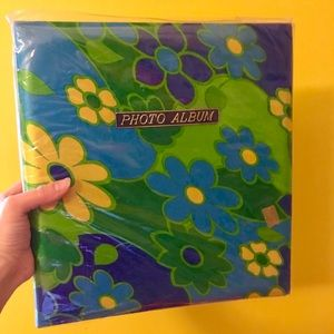 Deadstock vintage 60s 70s flower power photo album